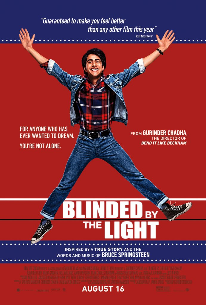 Bruce Springsteen Reacts To Blinded By The Light Movie Poster