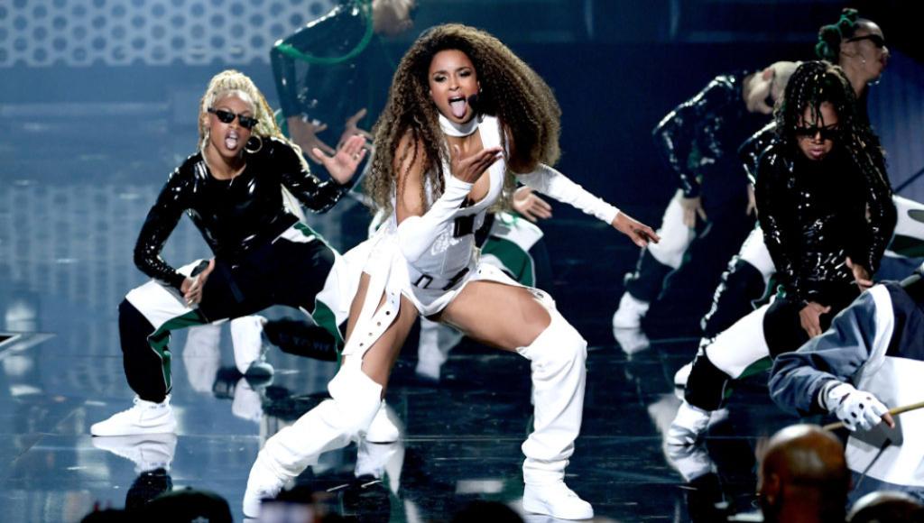 Ciara dancing