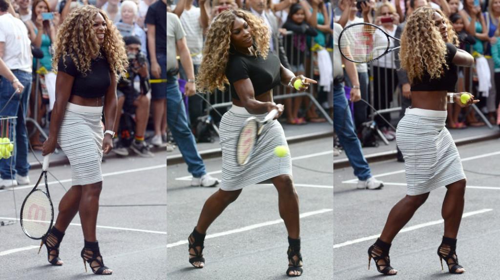 exercising in heels