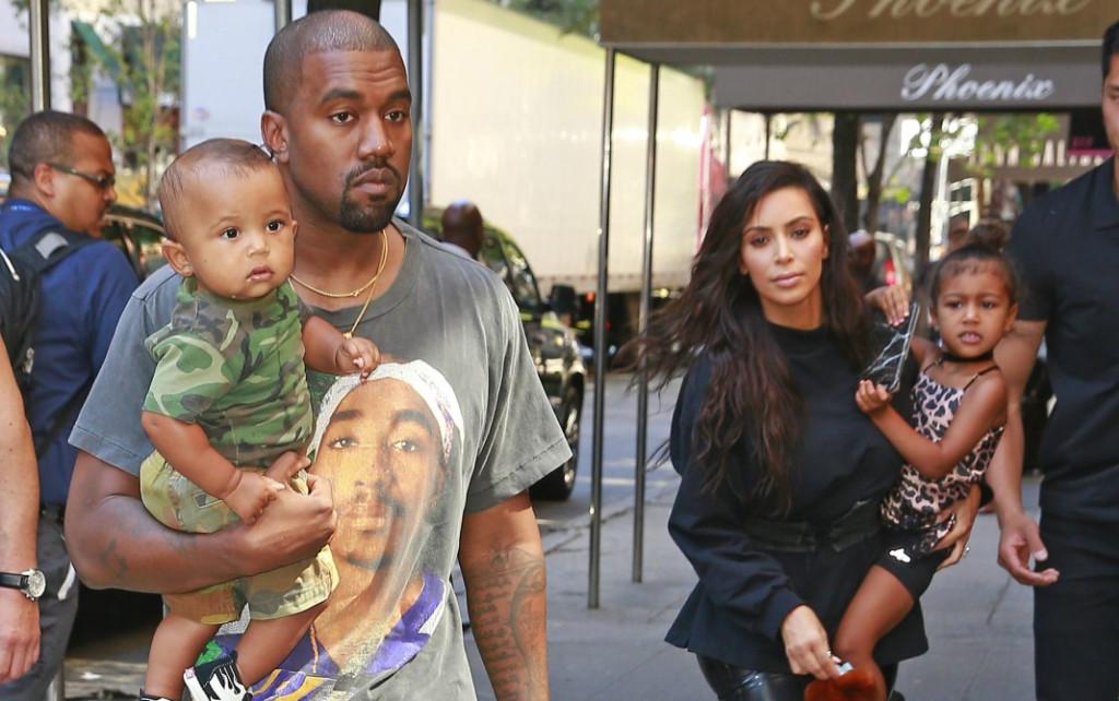 Kanye and Kim kids