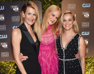 Laura Dern, Nicole Kidman and Reese Witherspoon