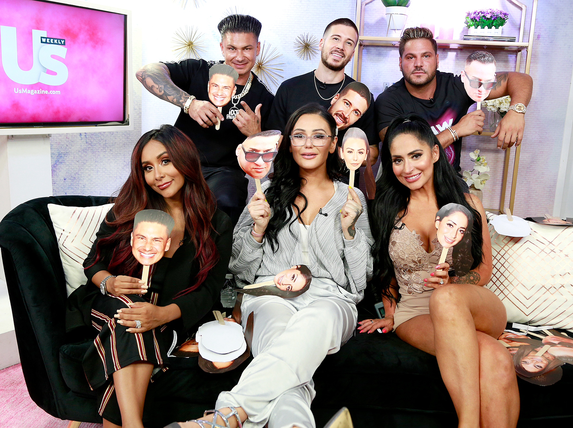 The cast of Jersey Shore: Family Vacation