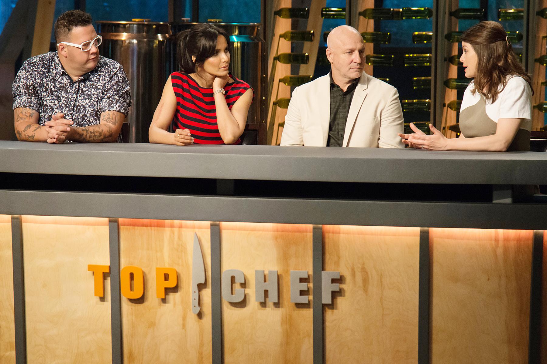 Graham Elliot Padma Lakshmi Tom Colicchio Gail Simmons season 15 Top Chef
