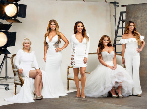 Margaret Josephs, Teresa Giudice, Melissa Gorga, Dolores Catania and Siggy Flicker of Real Housewives of New Jersey