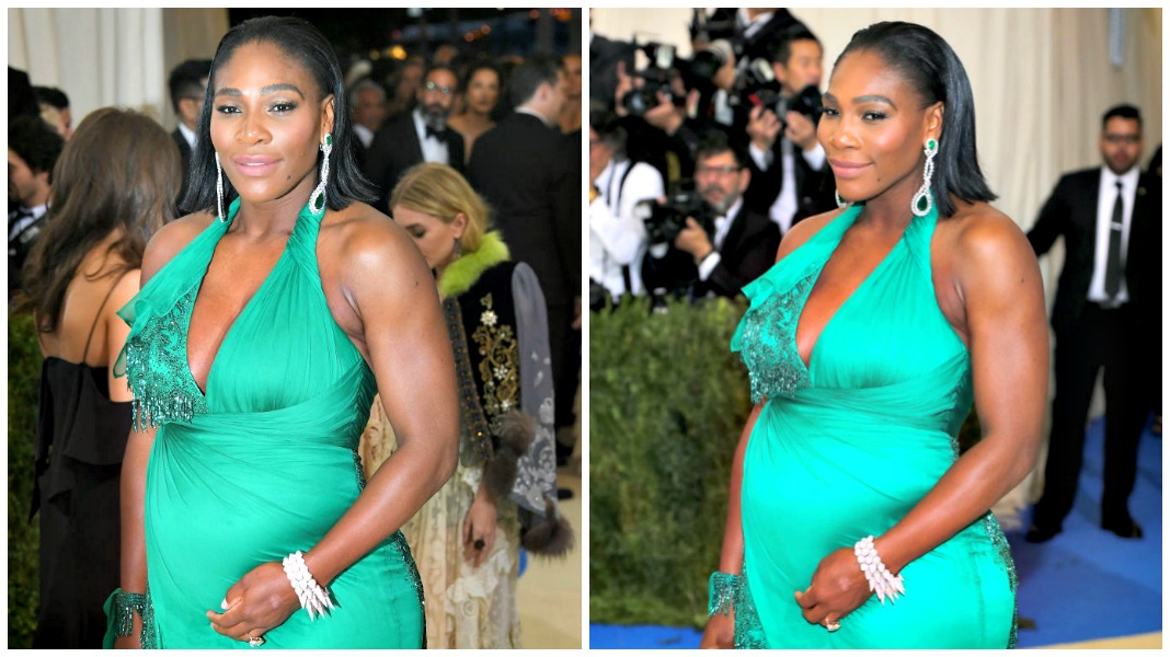 Serena williams met