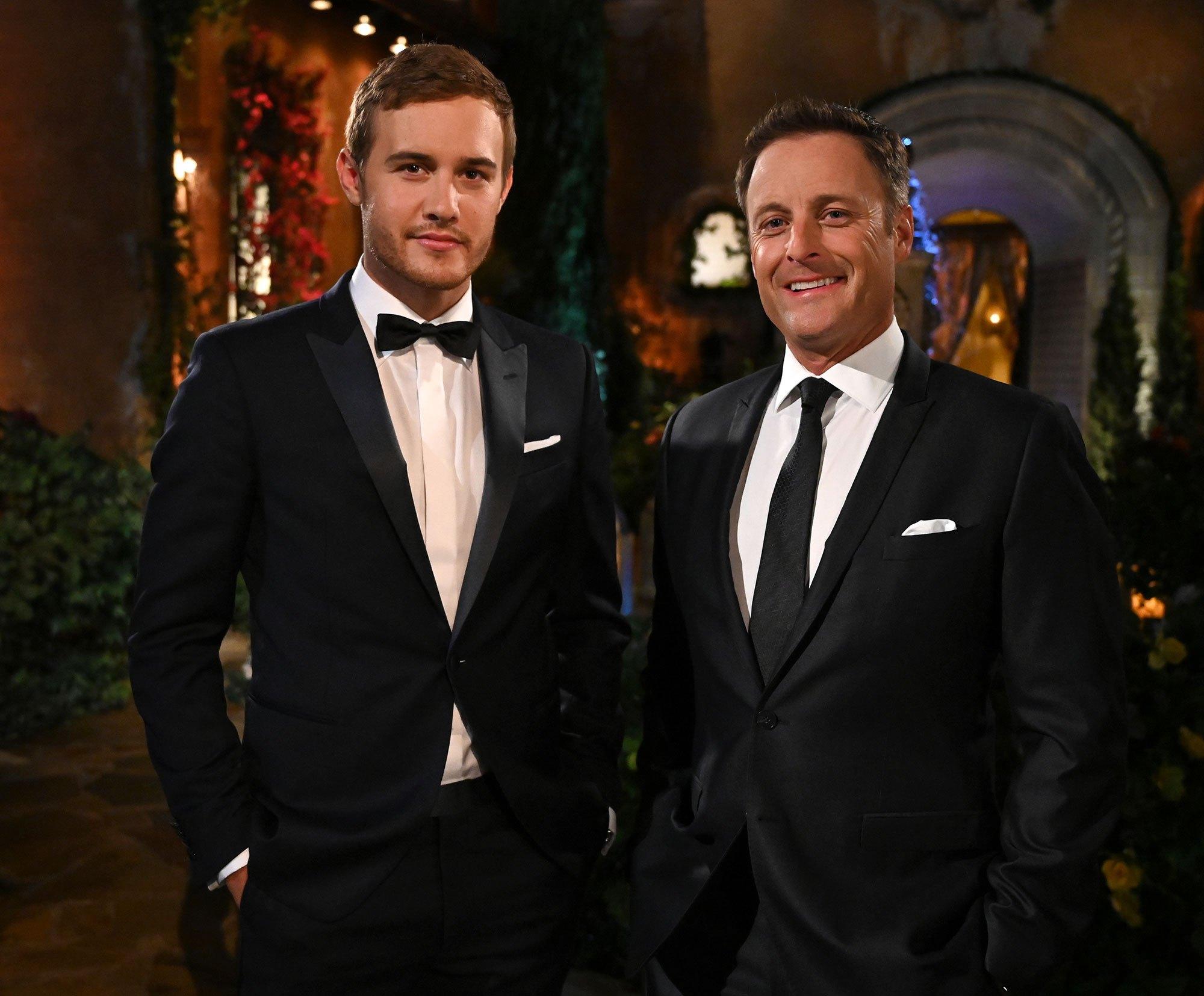 Peter Weber Bachelor and Chris Harrison Gut Wrenching The Bachelor