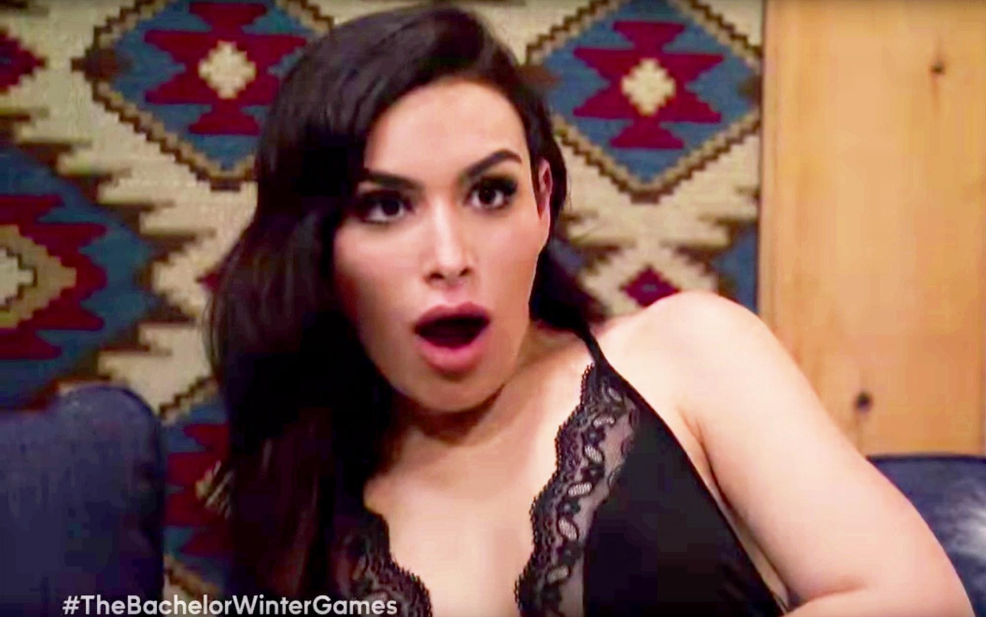 Ashley Iaconetti in 'Bachelor Winter Games'