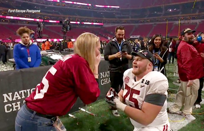 Bradley Bozeman and his girlfriend Nikki Hegstetter
