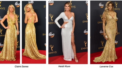 Gold And Silver Dresses Shine On The 2016 Emmys Red Carpet – Get The Look