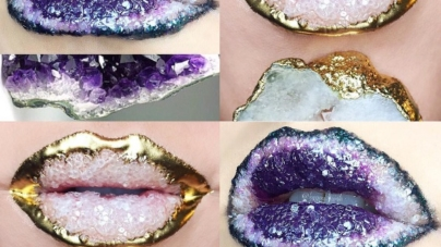 Crystal Lips- Would You Try This Shimmering New Beauty Trend?