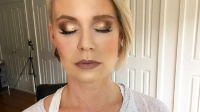 Champagne Eyeshadow Is Here- Raise Your Glass To This Hot Makeup Look