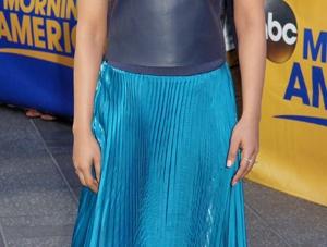 Copy Priyanka Chopra's Gorgeous Blue Pleated Dress Now