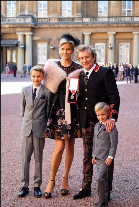 Rod Stewart Joins An Elite Group By Being Knighted
