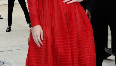Hailee Steinfeld & Lily Collins Rock Killer Street Style At Paris Fashion Week