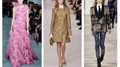 Interior Design Meets Fashion For The New Autumn Brocade Trend
