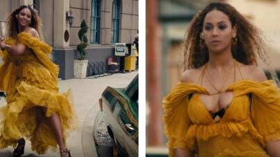 "Get Beyoncé's Yellow ""Lemonade"" Dress For Your Halloween 2016 Costume"