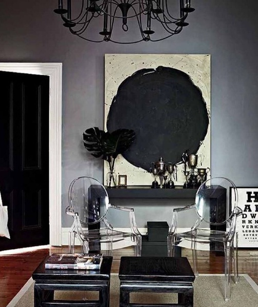 Basic Black Décor Rules For Fall/Winter 2016