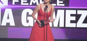 Selena Gomez Gives The Speech Of The Night At AMAs