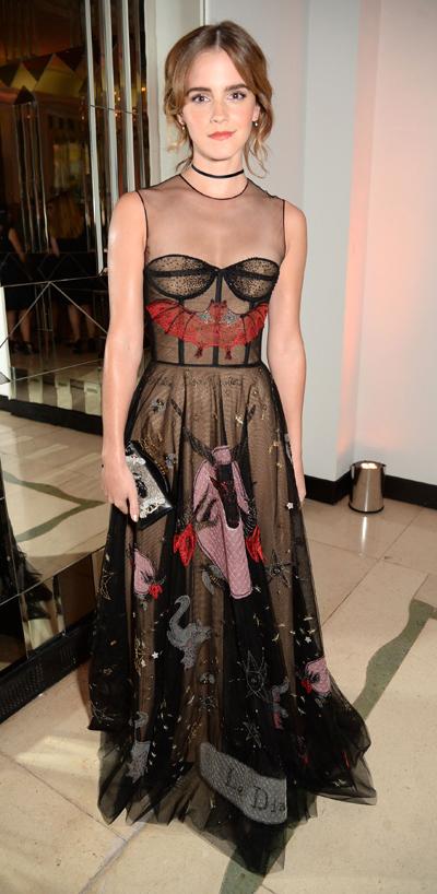 Emma Watson Stuns In Dior At Harper's Bazaar Women of the Year Awards
