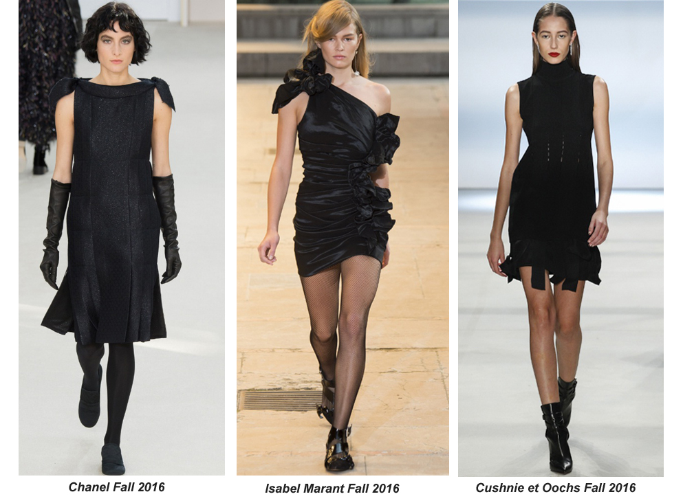 Runway Inspired Ways To Rock The Little Black Dress Right Now