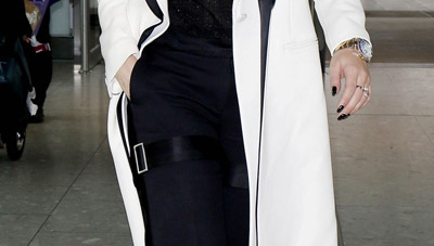 Copy Rita Ora's Stunning White Coat For Fall