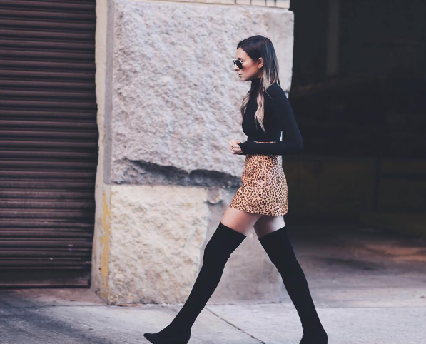 Style Over-The-Knee Boots Like A Fashionista This Season