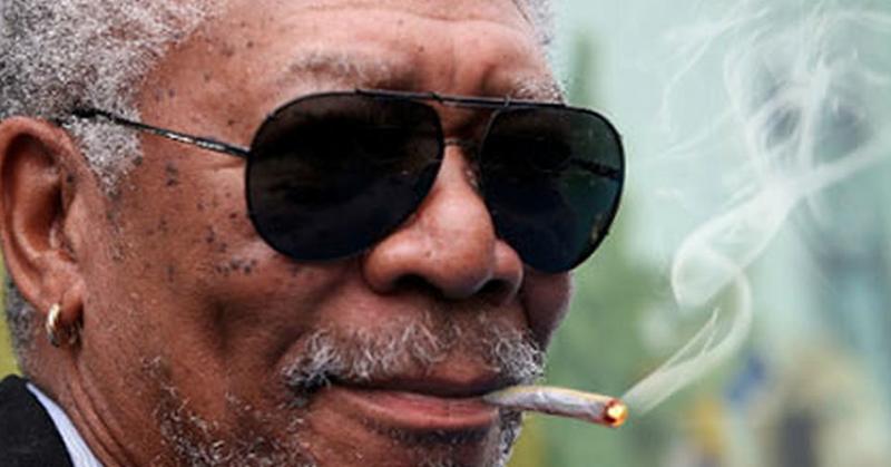 Morgan Freeman Defends Marijuana In Hilarious & Eye-Opening Interview