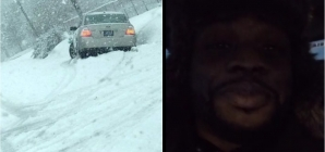 #CallYoPresident: Man Spots Trump Supporter Stuck In Snowstorm — Keeps Driving