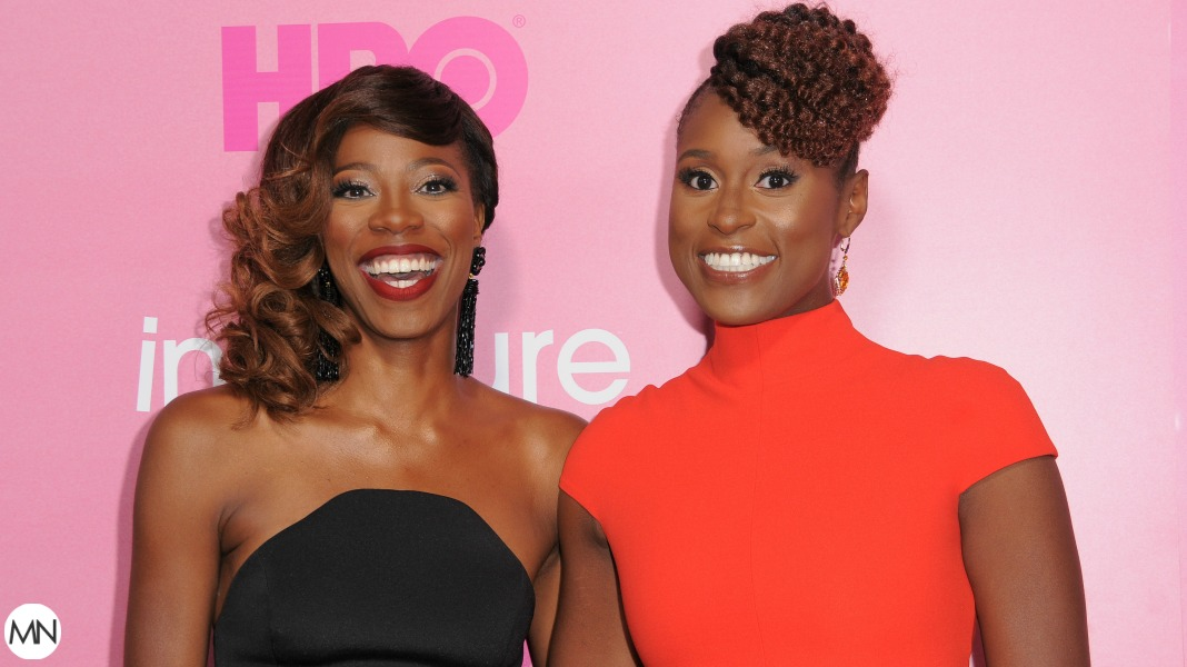 Yvonne Orji And Issa Rae Celebrating Her Golden Globe Nom In Headscarves Is Everything
