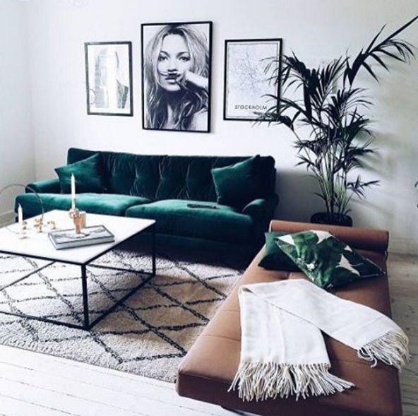 Green Shades Lead As A Popular Interior Design Trend For 2017