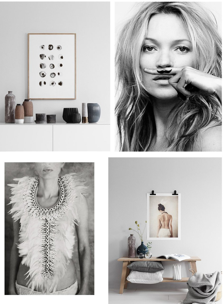 14 Stylish Prints For Your Walls + 25% off at Desenio