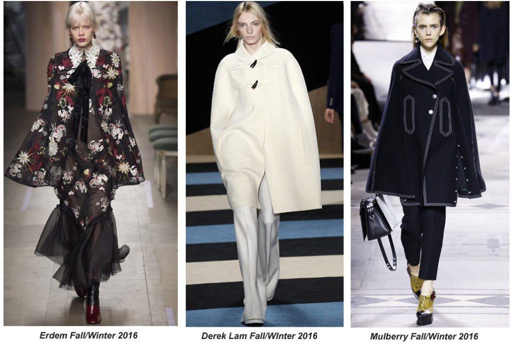 Embrace The Elegant Cape Coat For Winter 2016