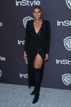 EJ Johnson Gathered A Critic Who Called Him Out For Wearing A Dress To The Golden Globes