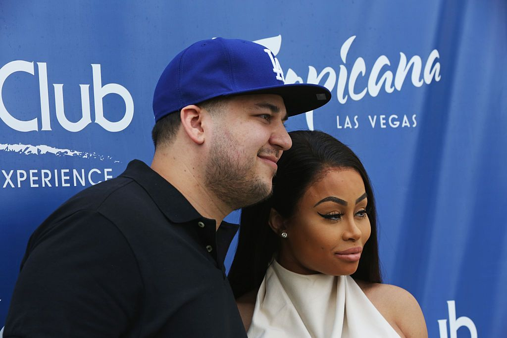 Rob Kardashian & Blac Chyna Are Finally Co-Parenting Peacefully