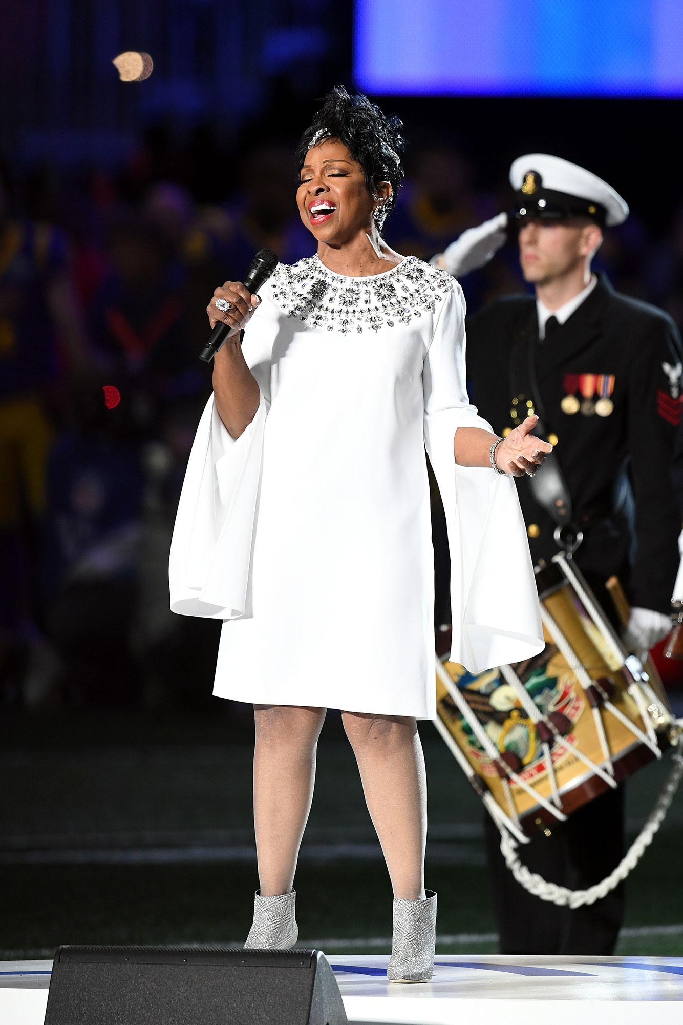 Gladys Knight Kicks Off Super Bowl LIII With National Anthem: Watch