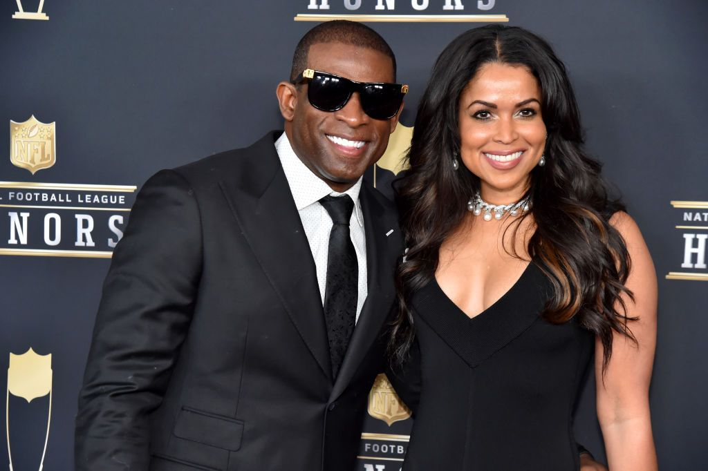 """God Is So Good"": Deion Sanders And Tracey Edmonds Announce Engagement"