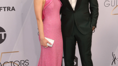 Pretty In Pink At The Screen Actors Guild Awards