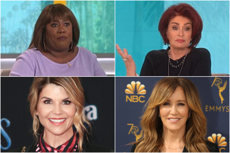 Sharon Osbourne Thinks Lori Loughlin, Felicity Huffman Deserve Fines For College Bribery Scheme, Sheryl Underwood Says Hell No They Don't