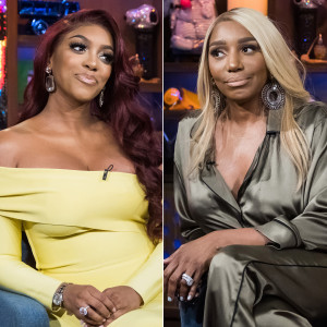 Porsha Williams Blasts NeNe Leakes for 'Fat-Shaming' Her Days After Birth