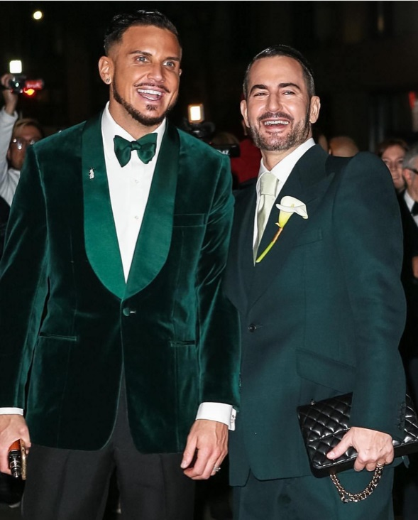 Marc Jacobs Marries In New York