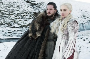 Snow My God! Emilia Clarke Ran Around NYC Dressed GoT's Jon Snow