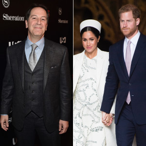 Suits' Aaron Korsh Thinks Meghan and Harry's Marriage Helped Show Ratings
