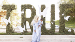 Copy Khloe Kardashian's blue slip dress