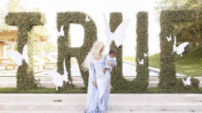 Copy Khloe Kardashian's Blue Slip Dress