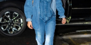 Copy Bella Hadid's Denim Corset Top