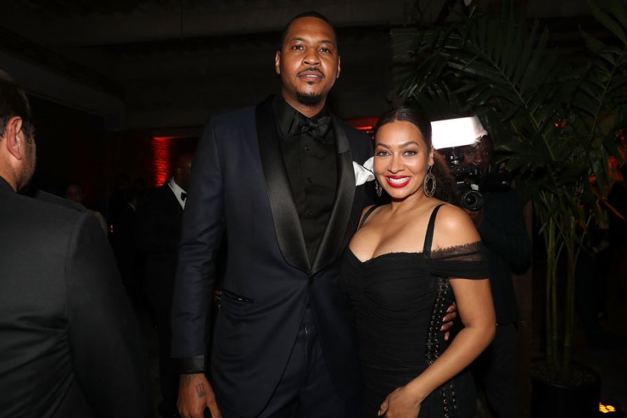 """""""Happy Birthday To A Real One"""": La La Sends A Sweet Birthday Message To Her Hubby Carmelo Anthony"""