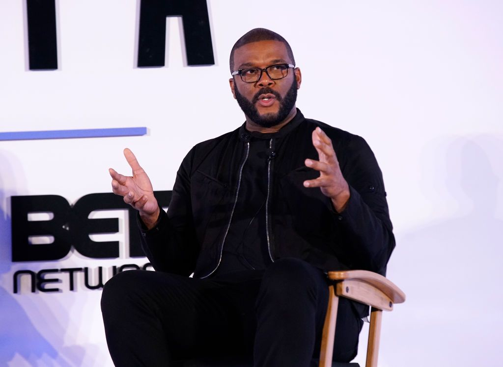 Tyler Perry Is Bringing A White House Drama To BET
