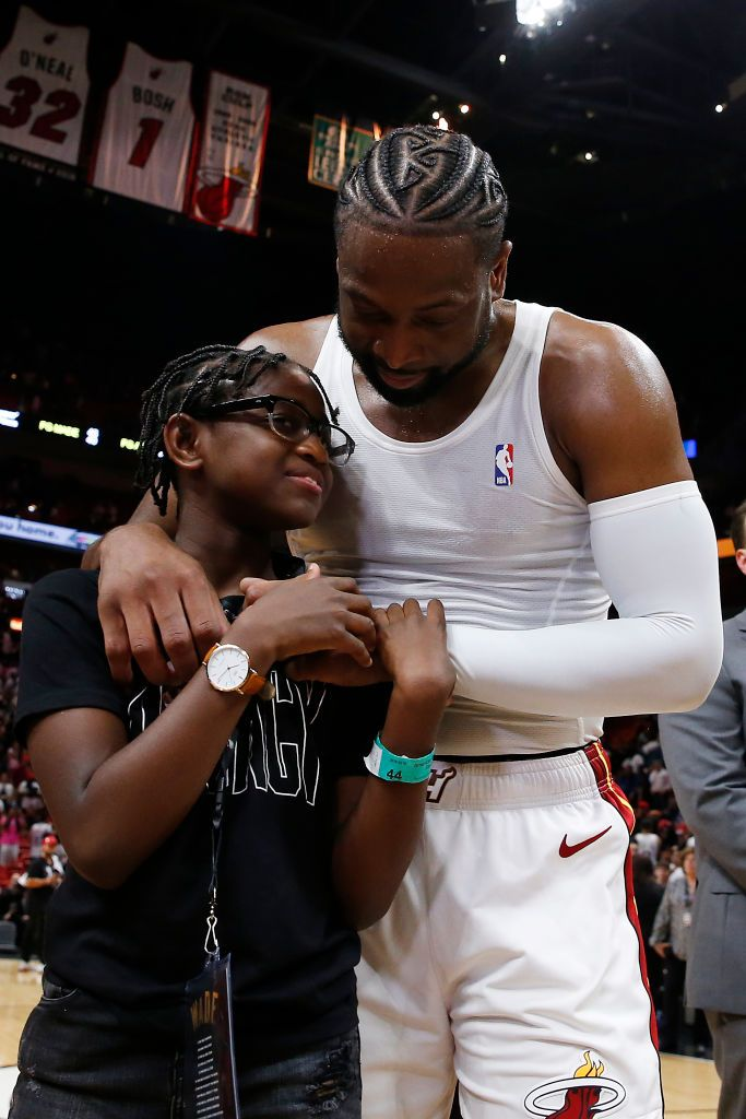 """I Love The Kid That You Are"": Dwyane Wade Encourages Son Zion To ""Continue To Be Brave"" On His 12th Birthday"