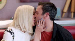 David and Donna Share a Kiss in 'BH90210' Teaser