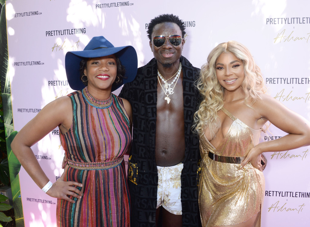 These Photos Have People Wondering If Ashanti Is Dating Comedian Michael Blackson